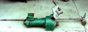 3 4 Hp Lightnin Clamp type Mixer 60 Stainless Steel Shaft With Prop Item 8460