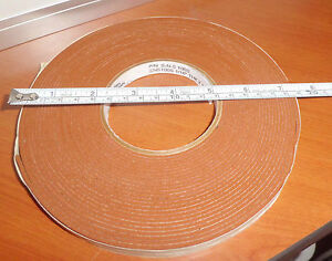 Rubber Adhesive Sealant Insulation Tape 1 16 Thk X 1 2 Wd 10 St Gobain