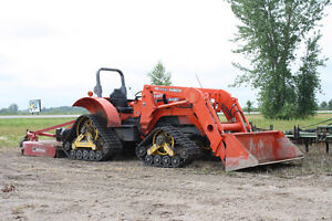Mattracks Kubota 9000 Tractor Tracks Rubber Tracks loader Wheel compact