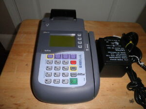 Verifone Omni 3740 Credit Card Pos Payment Terminal With Power Adapter
