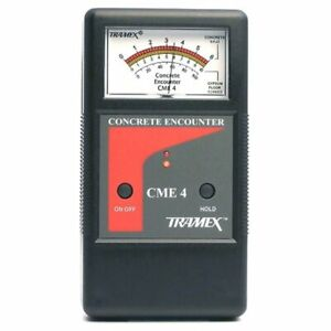 Tramex Cme4 Concrete Encounter 4 Moisture Meter