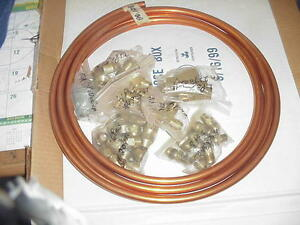 Healy Sytems Co axial Hose P n Z044 Franklin Fuel Petro Kit New Copper Tubing