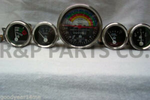 Tachometer Oil Temp Amp Fuel Gauge Set Package For Farmall 240