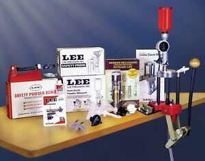 Lee Precision * Classic 4 Hole Turret Press DELUXE Kit # 90304 Brand New $286.24