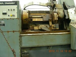 Warner Swasey Sc 32 1987 13 Hole Very Low Time From Navy