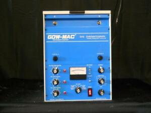 Gow Mac Gas Chromatograph Thermal Conductivity Detector Model 69 350