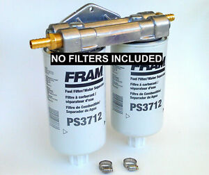 Wvo Bio Diesel Dual Remote Mount No Fram Ps3712 Fuel Filter Water Separators