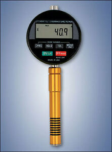 Rx dd oo Type Oo Precision Digital Shore Durometer With Memory Data Output