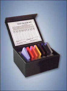Tbkc a m Type A M Durometer Test Block Kits With Certificates Of Conformance
