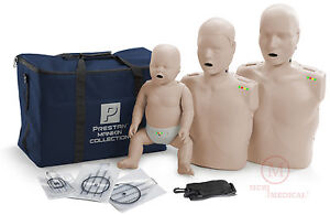 Prestan Collection Cpr Manikins With Feedback adult child infant Pp fm 300m ms