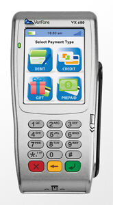 Verifone Vx 680 Emv Wifi Wireless Terminal W Scr New