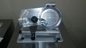 Saturn secl 10 s 10 Manual Commercial Meat Slicer 1 3 Hp