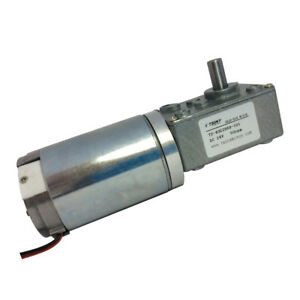 24vdc 50rpm High torque Worm Gear Motor Metal Right Angle Motor Engine Robot