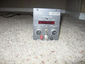 Lambda Model Lq 523 Regulated Power Supply 0 60v 0 9a Decent Condition