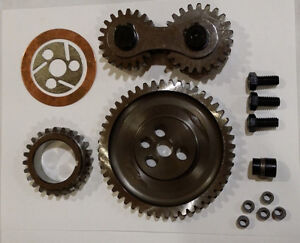 Gear Drive Quiet Steel Dual Idle Timing Set Dodge Plymouth 440 426 400 383 Gd440