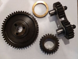Gear Drive Quiet Steel Dual Idle Timing Set Ford 351c 351m 400 Cleveland Block