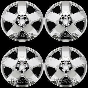 4 Fits Dodge Charger Magnum 05 11 Chrome 17 Bolt On Wheel Covers Hub Caps Rims