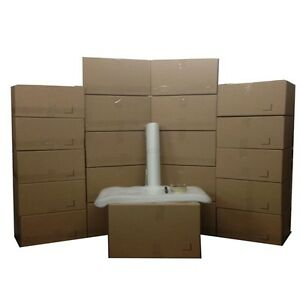 Basic Moving Box Kit 20 Boxes 10 Medium 10 Small Plus Supplies Included