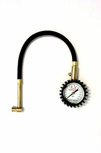 Accu Gage Tire Pressure Gauge 15 Psi Right Angle Chuck