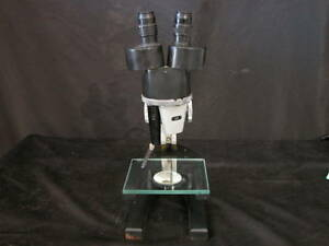 Ao Spencer Model 26 Lf Greenough Stereo Microscope With Dovetail Objectives