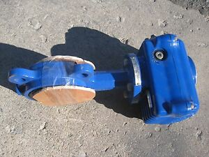 Abz 3 Butterfly Valve W actuator 12v Dc 434 Lbf in Torque