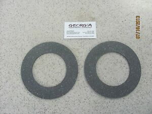 2 slip Clutch Disc Clutch Lining 5 91 x 3 58 Fits Several Different Shafts