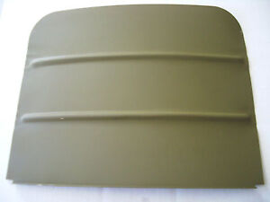 Wwii Jeep Willys Mb 1806 4 Front Seat Back Pan G503