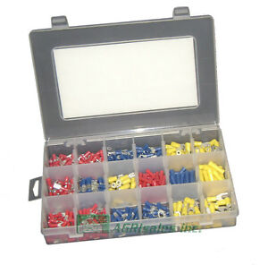 Nsi Industries 493 Piece Deluxe Electrical Wiring Terminal Kit