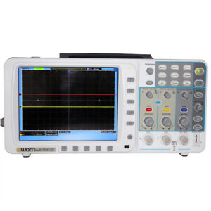 Newest Low noise Owon 100mhz Oscilloscope Sds7102v Fft Lan vga bag 3yrs Warranty