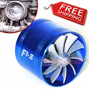 Air Intake Fan B Turbo Supercharger Turbonator Charger Fuel Saver Mercedes Benz