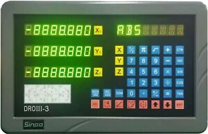 3 Axis Digital Readout Kit For 9x42 Bridgeport Mill iso9001 Quality