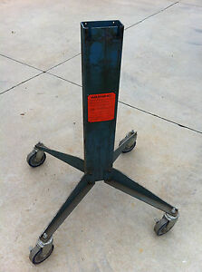 Roll Stand Roper Whitney Magna Bend Electromagnetic 4 18 Gauge Box Pan Brake