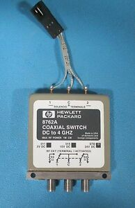 Hp Agilent 8763b 4 port Coaxial Switch Dc To 18 Ghz Option 24
