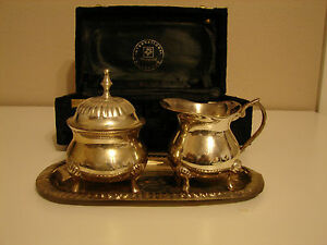 International Silver Company 3 Piece Tea Set Silver Plated