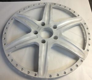 22 Gfg Wheel Center Face Raw Aluminum