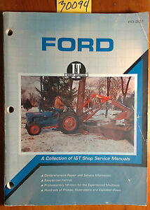 Ford Fordson Tractor I t Collection Of Shop Service Manual Fo 201 1990