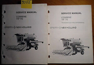 New Holland Tr70 Combine Service Manual 8 79 Transmission Differential 9 78