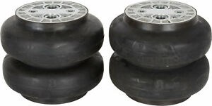 2ct Slam Specialties Air Suspension Bags He 8 Dual 1 2 Npt Ports Rated 400 Psi