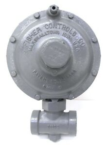 Fisher Controls Relief Valve Vacuum Regulator Y612 spec 5 16