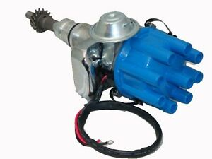 Ford 302 351 Cleveland Electronic Distributor Black Motor Type S2