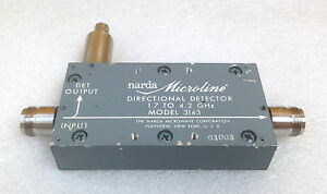 Narda 3143 1 7 To 4 3 Ghz Directional Bridge Type N f f Bnc f Outputs