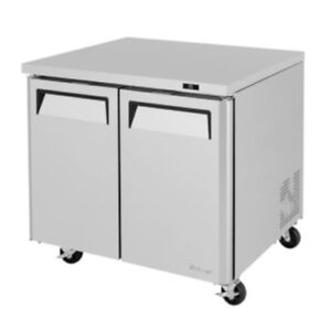 Turbo Air Mur 36 36 Wide Under Counter Refrigerator Cooler