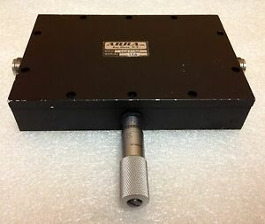 Arra 4487 40 0 To 40 Db 0 2 To 2 Ghz Variable Micrometer Attenuator