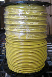 Thhn thwn 500 Ft 10 Awg Stranded Copper Wire Yellow