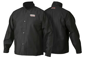 Lincoln K2985 Traditional Fr Cloth Welders Welding Jacket Size Xl