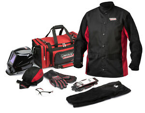Lincoln Premium Welding Gear Ready pak K3236 Size Medium