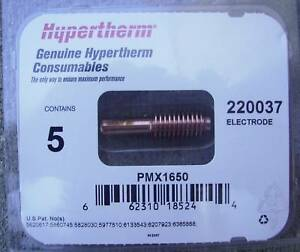 Hypertherm Genuine Powermax 1650 100 Amp Electrodes 220037