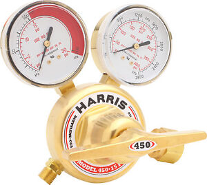 Harris Model 450 15 300 Acetylene 450 Series Regulator 3002493