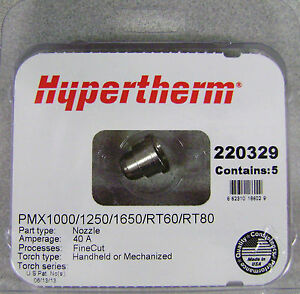 Hypertherm Genuine Powermax 1000 1250 1650 Fine Cut Nozzle 220329