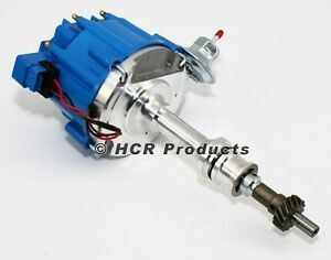 Big Block Ford 351c 460 Hei Ignition Distributor Blue Cap 351m 400 429 Bbf